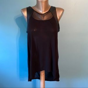 Kenneth Cole black sleeveless blouse